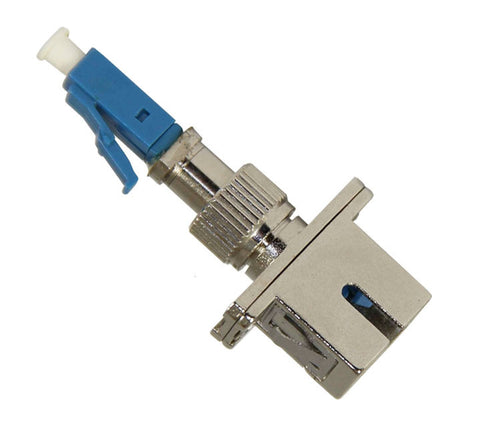 LC-SC (male-female) Hybrid Adapter, 9/125µm Single Mode