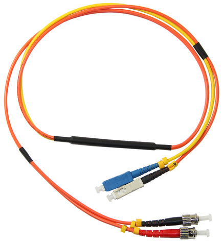 1m SC-ST 62.5/125µm mode conditioning patch cord, SC single mode, 1 meter length