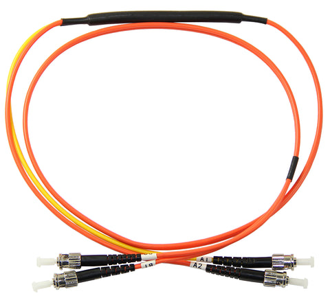 ST-ST 62.5/125µm mode conditioning patch cord, ST single mode, 1 meter length