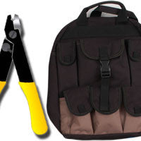 Backpack Splicing Tool kit with Pocket Fault locator
