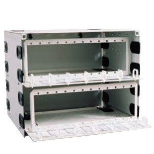 144 Port Rack Mount Enclosure Single Sliding tray   (Unloaded) Holds 24 adapter panels