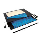 "24 Port (1U) High Density 19"" Slide-Out Rack Mount Enclosure (Unloaded) - Accepts 3x Adapter Panel"