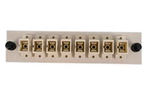 SC 8 Pack (Multimode - Loaded) Beige Adapters, Beige Color