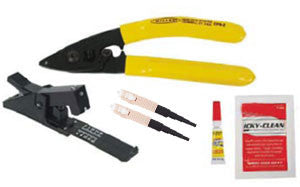 Bobtail Mini SC Multimode Kit w. Stripper, Cleaver, Adhesive & (2) SC Bobtails
