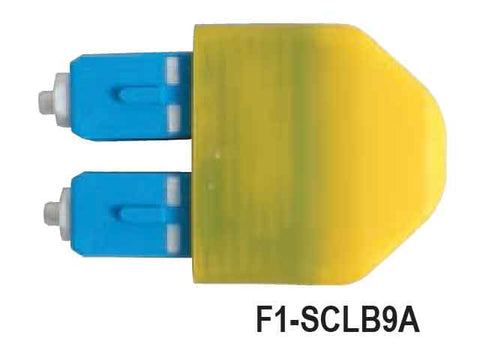 SC Loopback Module, Single Mode, UPC Polish, 9/125µm Fiber