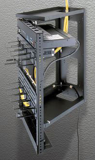 "Swing Gate Wall Mount Racks 38.5"" Overall Height, 35""(20 Space) Racking Height, 18"" Depth"