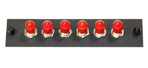 6 ST Adapter Panel (Multimode - Loaded)