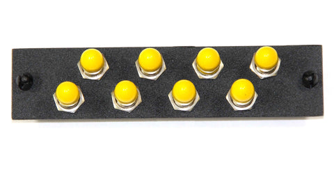 8 Pack ST Adapter Panel (Single Mode - Loaded)