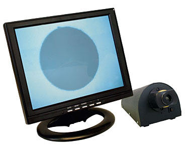 "400X Video Fiber Optic Microscope with 12"" LCD Monitor and Universal Adapter (110 Volt)"