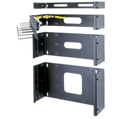 "1-3/4"" (1 space) Wall Mount Hinged Rack"