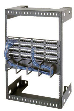 "Wall Mount Racks  56"" Overall Height, 50"" (30 Space) Racking Height, 12"" Depth"