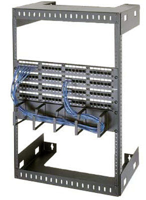 "Wall Mount Racks  56"" Overall Height, 52-1/2"" (30 Space) Racking Height, 18"" Depth"