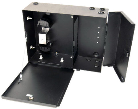 Multilink 48 Port Patch/Splice Wall Mount Housing (Holds 8 Adapter Plates, 4 Splice Trays 2000-SSTA