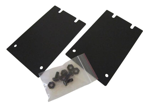 "FMC-RMK02 metal plates set for single unit installation of FMC-CH08 chassis units in a 19"" rack"