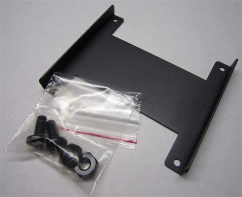 "metal bracket set for side by side installation of two FMC-CH08 chassis units in a 19"" rack"