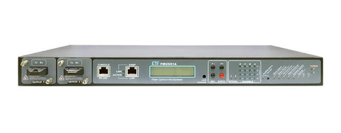 FMUX01A-CHAC2 PDH modular fiber optic multiplexer chassis, up to 16 T1 / E1 and Ethernet, dualAC PS
