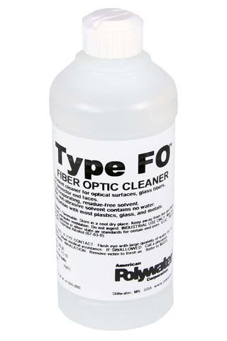 Polywater Type FO Alcohol Fiber Cleaner 16-oz Bottle