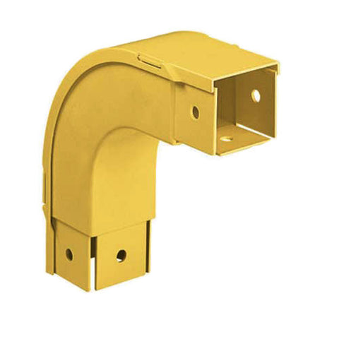 Outside Vertical Righgt-Angle Fitting And Cover, 4 in.x 4 in.