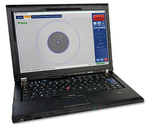 EXFO ConnectorMax Analysis Fiber Inspection Probe analysis software