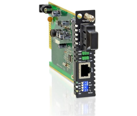 FRM220-10-100-SC002 Fast Ethernet to 100BaseFX multimode fiber media converter card