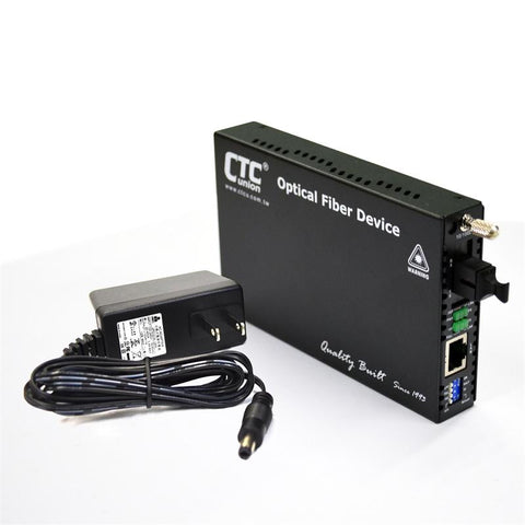 FRM220-10-100i-SC40B Fast Ethernet WDM BiDi single strand singlemode managed fiber media converter, 40Km B type