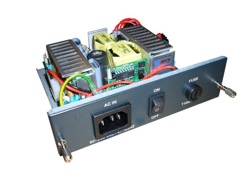 neg. 36-72V DC power supply for FRM220 chassis