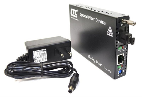 FRM220-E1-T1R-SC02A T1 RJ45 100ohm (and E1 120ohm) to single strand BiDi Tx:850nm/Rx:1310nm multi-mode fiber media converter (T1 modem), 2Km
