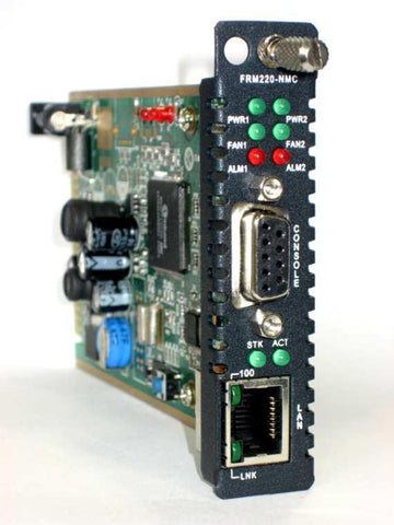 Network Management Card for the FRM220 chassis