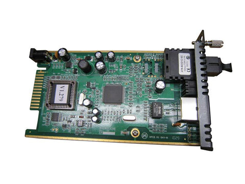 Fast Ethernet 10/100BaseTX to BiDi single strand single-mode in-band managed fiber converter, 20Km B