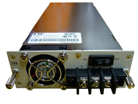 neg. 18-56V DC power supply for FRM301 chassis