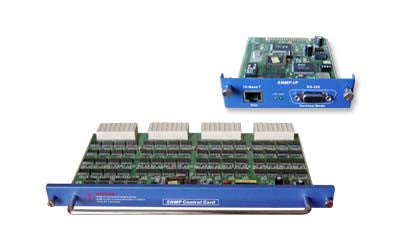 SNMP management module for the FRM301-chassis