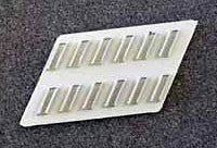 Protection Sleeve Chip 12 Position (plastic) (Adhesive Backing)