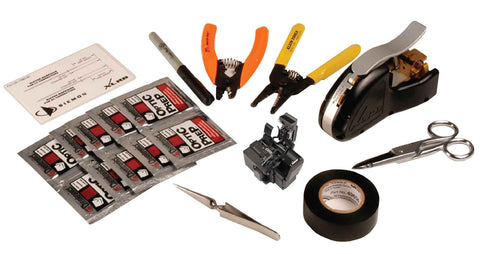SIEMON XLR8 Connector Installation Tool Kit with Precicion Fiber Cleaver