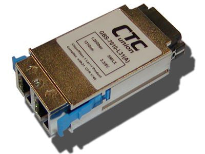 1000Base-SX, multi-mode eXtended Range, 2Km, 1310nm GBIC transceiver