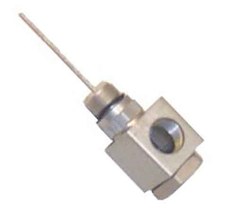 Adapter Right Angle KS PIN To Equipment With Long PIN, 90 Degree Coaxial Seizure Screw