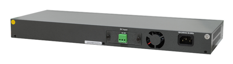 GSW-3420FM - Gigabit Ethernet 24 SFP ports, Layer 2 managed switch, dual redundant AC and DC48 power, rack 19""
