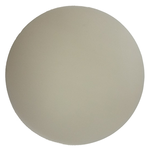 "662XW Type H Diamond Lapping Film - 0.5µm Grit - Beige Color - 5"" Disc. Pack of 25 pcs sheet."