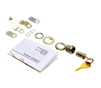 Lock Kit for front door of housing ; contains 1 lock with 2 keys