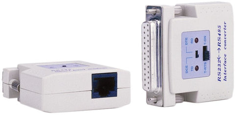 RS232 to RS422/RS485 (RJ45)interface powered converter