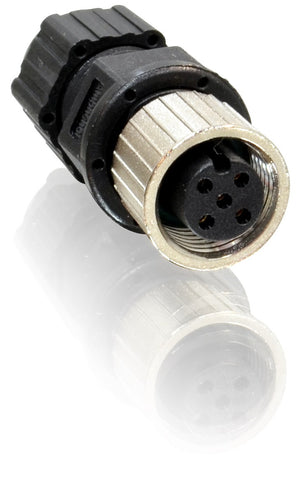 IND-M12AF5 - Industrial IP67 M12 5 pin threaded Amphenol connector for power - for ITP series switches