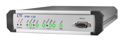 Single E1/T1/J1 over IP/Ethernet extender - TDMoverIP - DC48V power