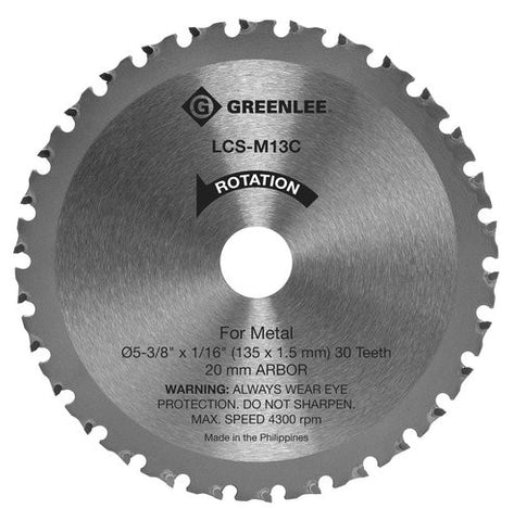 Blade, Metal Circ Saw - 5-3/8 in. Reg