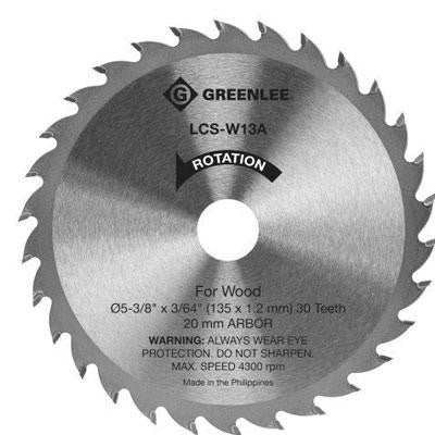 Blade, Circ Saw - 5-3/8 in. Reg Wood