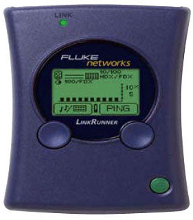 Fluke Networks LinkRunner Network Analyzer/Multimeter
