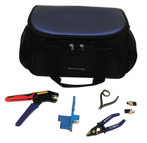 LYNX Splice-On Connector Tool Kit w/ Carrying Case, Ferrule Holder,Cord Holder, Crimp Tool