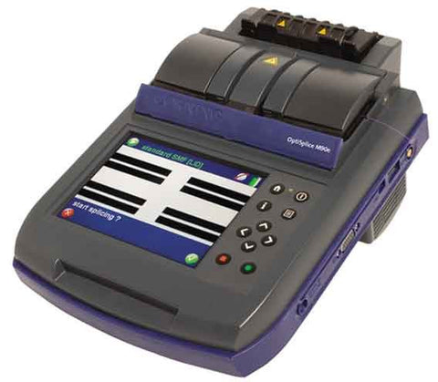 OptiSplice M90e Fusion Splicer, Cleaver, LID and CDS Core Alignment, Cleaver, Fast Heat Shrink Oven