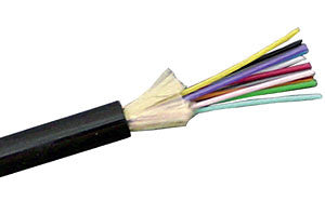 Mohawk 9µm Single Mode Tactical Fiber Optic Cable - 4 Strands