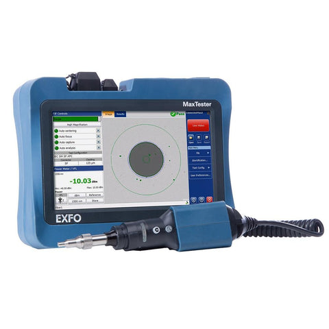 EXFO MAX-FIP Display For Fiber Inspection Probe