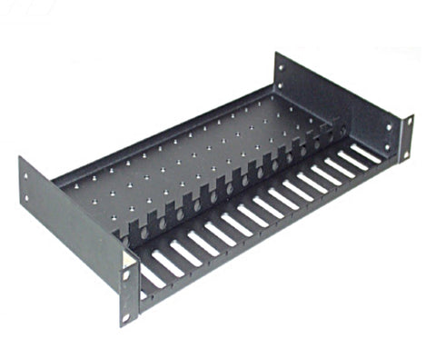 Rackmount Tray for 16 Converter Switches