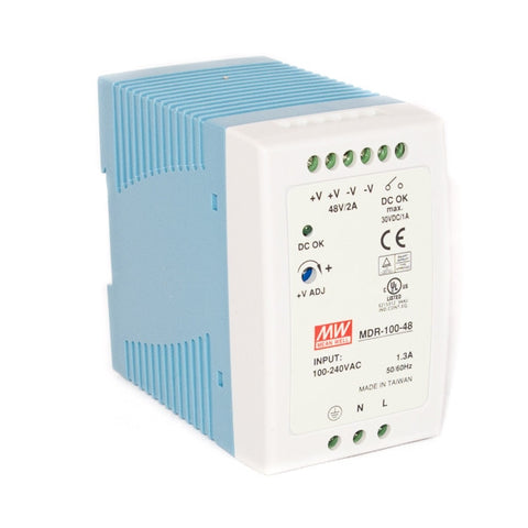 MD-10048 AC to DC 48V 100W Industrial DIN rail power supply